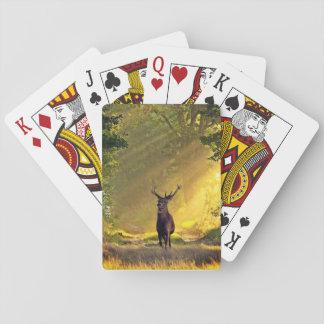 ciervos del dólar baraja de cartas