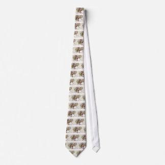 Ciervos del encuentro de los niños en vintage del  corbatas