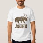 Ciervos del oso del vintage camisetas