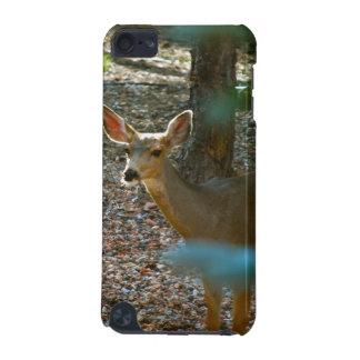 Ciervos en maderas funda para iPod touch 5G