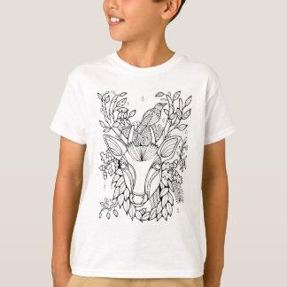 Ciervos fantásticos del bosque camiseta