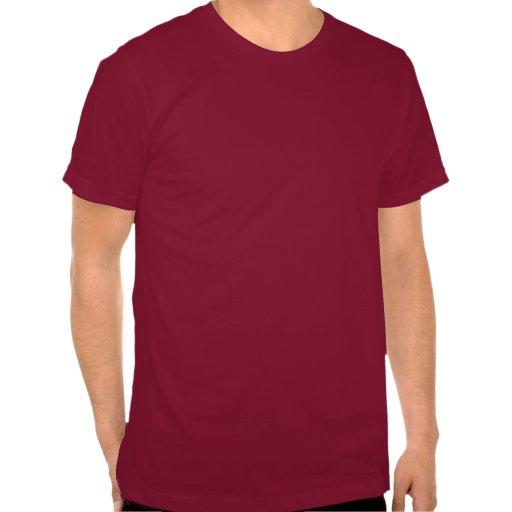 Ciervos feos del suéter del punto del blanco de camiseta