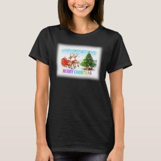 Ciervos g de las Felices Navidad Camiseta