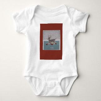 ciervos patinadores body para bebé