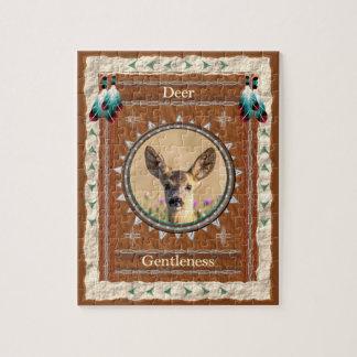 Ciervos - rompecabezas del gentleness con la caja