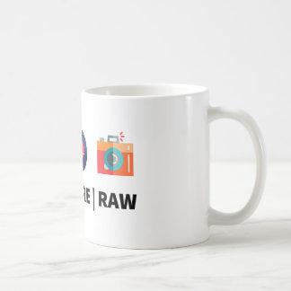 Cifre la base cruda - para el friki creativo taza de café