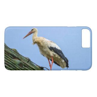 Cigüeña blanca europea, ciconia funda iPhone 7 plus