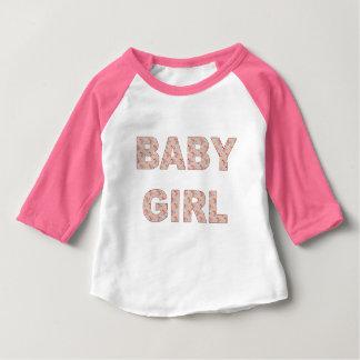 Cigüeñas de la niña camiseta de bebé