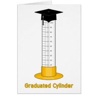 Cilindro graduado - felicitaciones