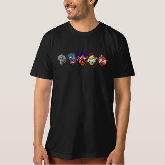 Cinco caras de la diversión de Freakin Camiseta