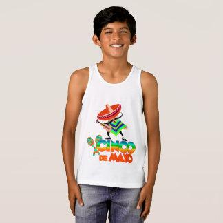 Cinco de Mayo Camiseta De Tirantes