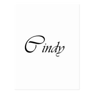 Cindy Postales