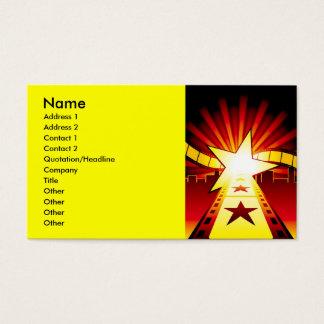 CINEMA7, nombre, dirección 1, dirección 2, Tarjeta De Negocios