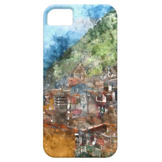 Cinque Terre Italia en la Riviera italiana Funda Para iPhone SE/5/5s