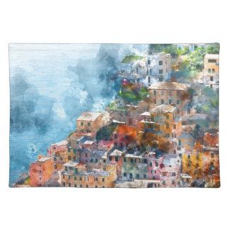 Cinque Terre Italia - italiano Riviera Salvamanteles