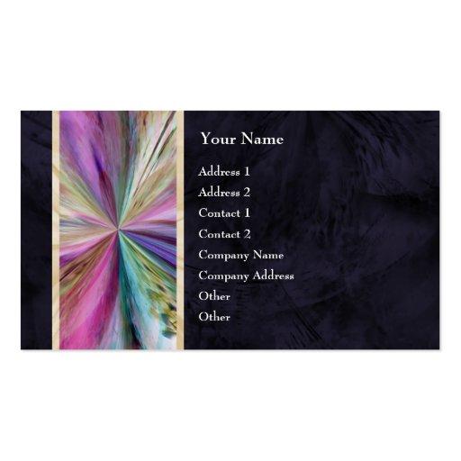Cinta abstracta colorida del collage tarjetas personales