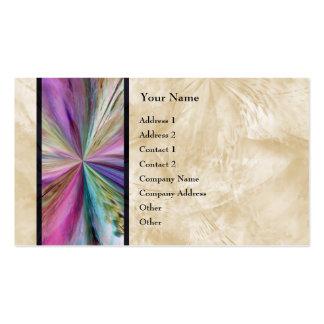 Cinta abstracta colorida del collage plantilla de tarjeta personal