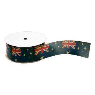 Cinta australiana del personalizado de la lazo de tela gruesa
