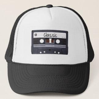 Cinta de casete clásica gorra de camionero