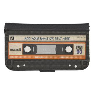 Cinta de casete de música de la escuela vieja 80s  carteras para teléfono
