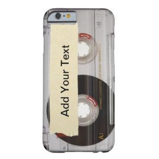 Cinta de casete funda para iPhone 6 barely there