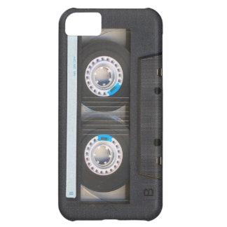 Cinta de casete funda para iPhone 5C