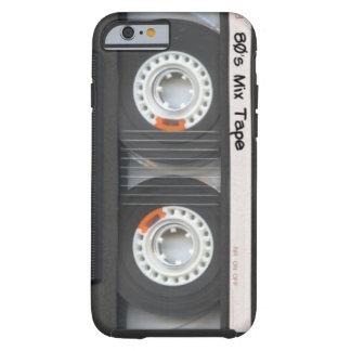 Cinta de casete funda para iPhone 6 tough