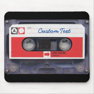 cinta de casete personalizada cultura Pop 80s Alfombrilla De Ratón