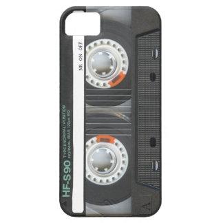 Cinta de casete retra funda para iPhone SE/5/5s