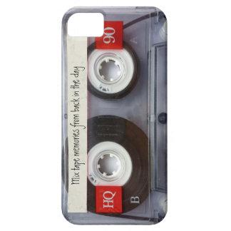 Cinta de casete retra iPhone 5 cárcasas