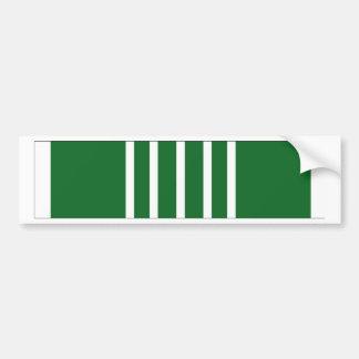 Cinta de encomio del ejército pegatina para coche