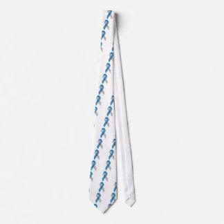 Cinta de la conciencia de la diabetes del tipo 1 corbata personalizada
