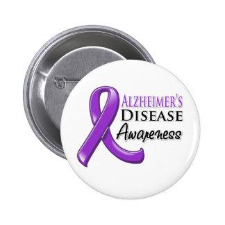 Cinta de la conciencia de la enfermedad de Alzheim Pin
