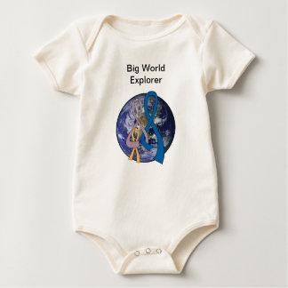 Cinta de la conciencia de la unidad de la familia body para bebé