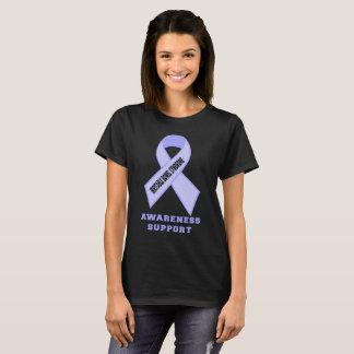 Cinta de la conciencia del síndrome de intestino camiseta