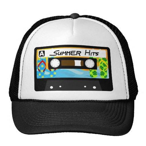 Cinta de los golpes del verano gorras de camionero