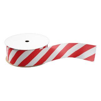 cinta del bastón de caramelo lazo de tela gruesa