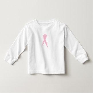 Cinta del cáncer de pecho: Manga larga del niño Camiseta De Bebé