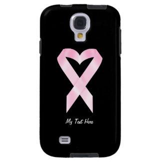 Cinta del cáncer de pecho (personalizable) funda galaxy s4