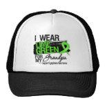 Cinta del linfoma para mi abuelo gorras de camionero