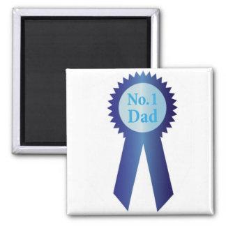 Cinta del premio del papá del día de padres la mej iman de nevera