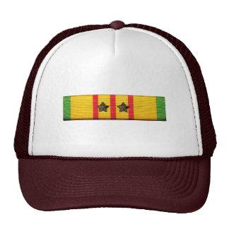 Cinta del servicio de Vietnam - gorra de la Malla-