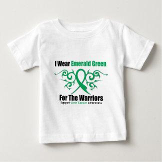 Cinta del verde esmeralda (guerreros) - cáncer de camiseta