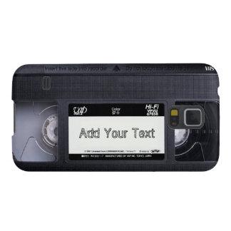 Cinta del vintage 80s Retro_2 VHS de la diversión Carcasa Para Galaxy S5