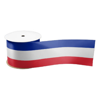 Cinta francesa de la bandera lazo de raso