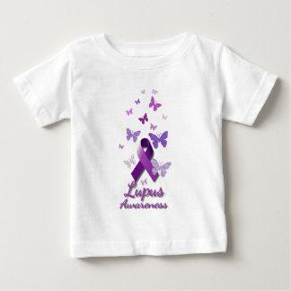Cinta púrpura de la conciencia: Lupus Camiseta De Bebé