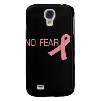 Cinta rosada NINGUNA conciencia del cáncer de pech Funda Samsung S4