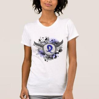 Cinta y alas ARDS del Grunge Camiseta