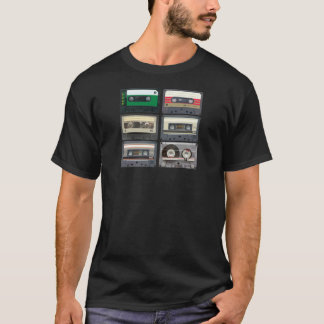 Cintas de la mezcla camiseta