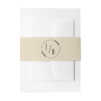 Cintas Para Invitaciones Colección moderna simple de la invitación del boda